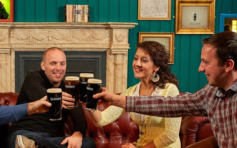 תמונה באדיבות : Guinness Storehouse